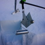 snow density and weighing machine